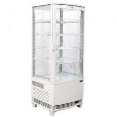 冷蔵ショーケース(4面ガラス:98リットル)