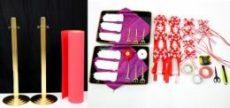 テープカットレンタルセット(6人用)