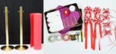 テープカットレンタルセット(4人用)