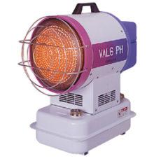 業務用赤外線ヒーター VAL6(バルシックス) PH(定格周波数50Hz地域用)