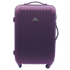 中型スーツケース(コーナープロテクト:TSAロック付)【パープル】 レンタル