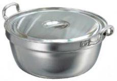 ステンレス円付鍋ふた付(料理鍋) 直径51cm(約28L)