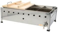 ガスおでん鍋(8ツ仕切り:直火式)